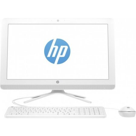 Hp Desktop all in one - 22-b013nl x1a33ea bianco