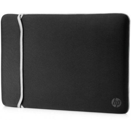 """Hp Custodia pc portatile fino 15.6 """" - 2uf62aa Silver-nero"""