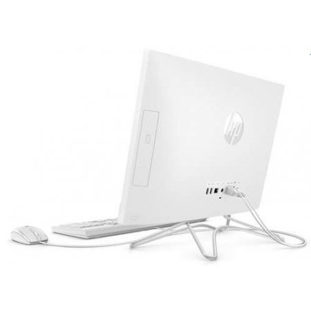Hp Desktop all in one - 22-c0002nl 4ml18ea Bianco