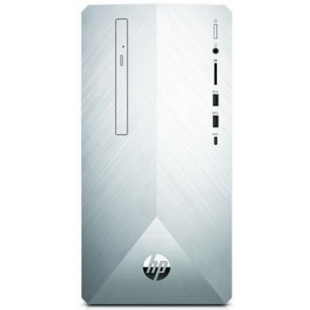Hp Desktop - 595-p0020nl 4xd27ea Argento-nero