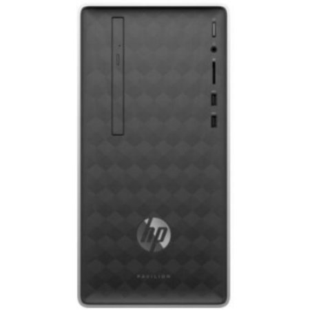 Hp Desktop - 590-a0001nl 4ms51ea Argento-nero