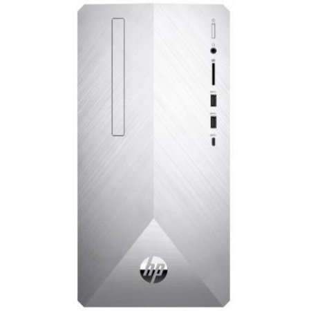 Hp Desktop - 595-p0057nl Argento-nero