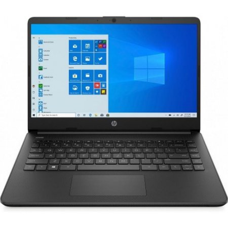 "Hp Computer portatile 14"" - 14s-fq0015nl 1q9h8ea Nero"