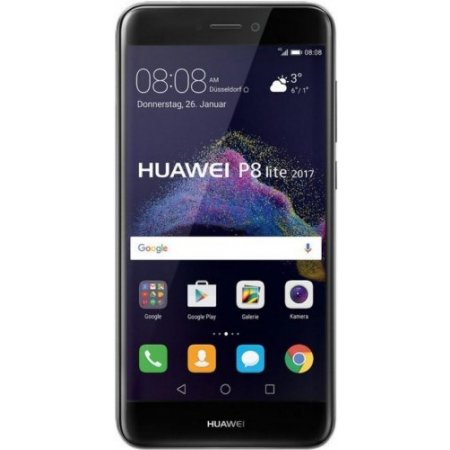 Huawei Smartphone 16 gb ram 3 gb. h3g quadband - P8 Lite 2017neroh3g