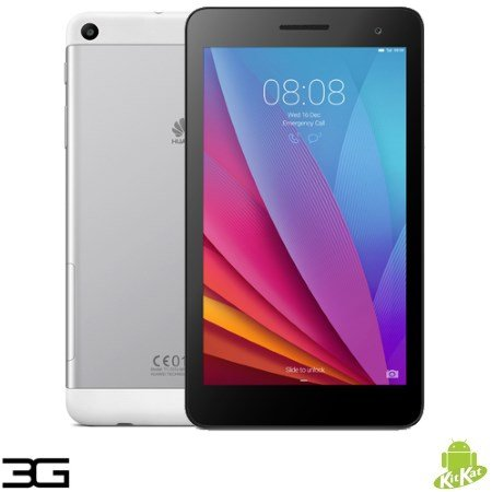 Huawei - Mediapad T1 7.0 3G Silver/Black