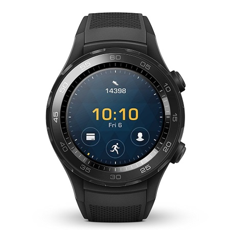 "Huawei Schermo AMOLED   1.2"" - Watch 2 Carbon Black"
