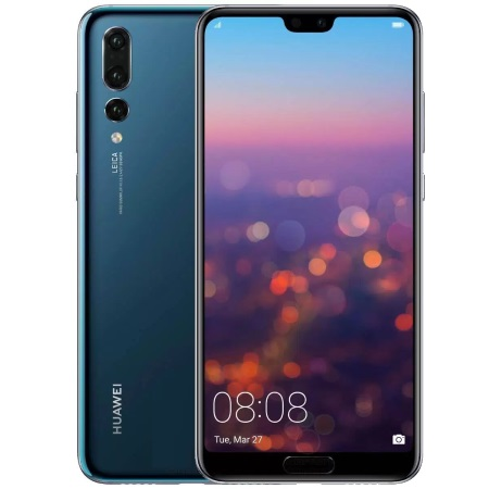 "Huawei Display da 6.1"" FHD+ AMOLED HDR GorillaGlass 5, 2240x1080, 408ppi - P20 Pro Blue"