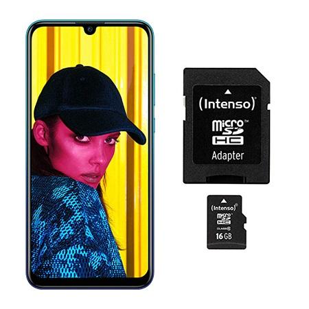 Huawei Smartphone 64 gb ram 3 gb pentaband - P Smart 2019 Blu