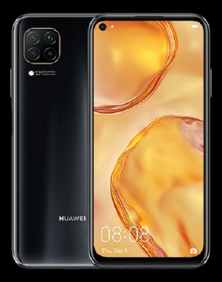 "Huawei P40 Lite Midnight Black Display: 6.4"" FHD+ (2310x1080) - 51095ckc"