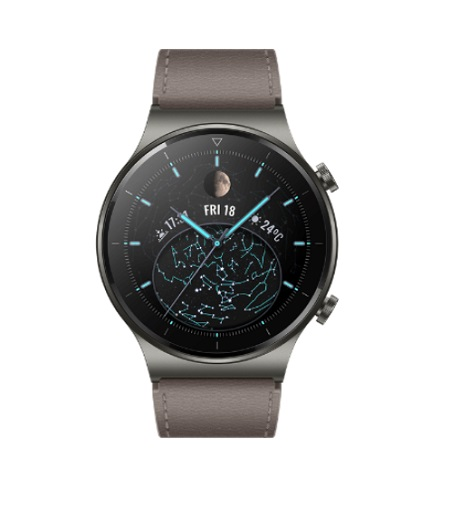 Huawei - Watch Gt 2 Pro Nebula Gray