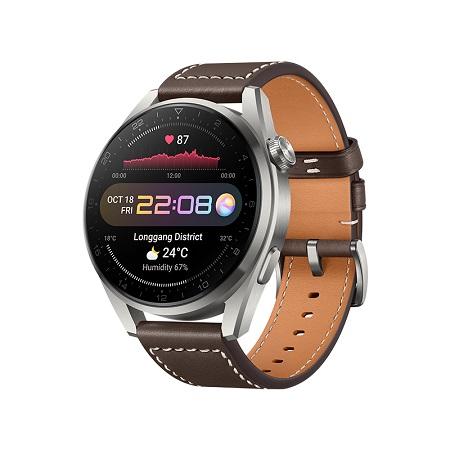 Huawei - Huawei Watch 3 Pro Classic Brown