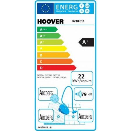 Hoover Scopa elettrica 650 w - Dv40 011 Blu