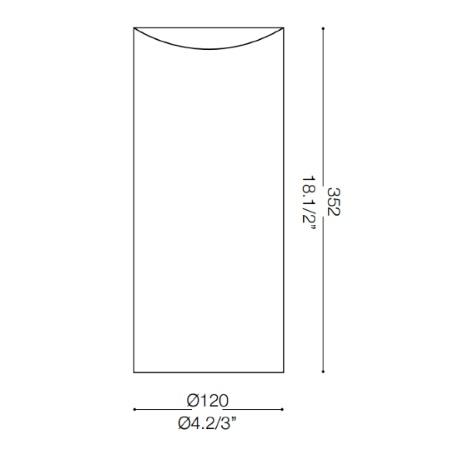 Ideal Lux Lampada da tavolo - Edo Tl1 Big