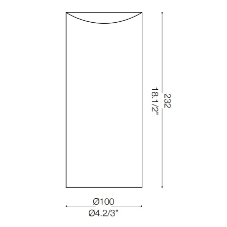 Ideal Lux Lampada da tavolo - Edo Tl1 Small - 044606