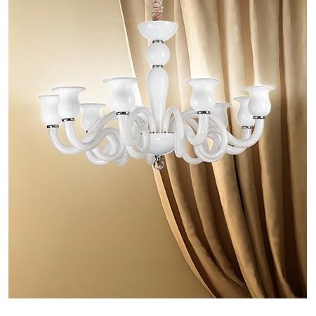 Ideal Lux Lampada a sospensione - Teseo Sp6 Bianco
