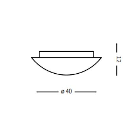 Ideal Lux Plafoniera - Simply PL3 - 007984