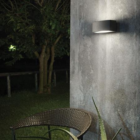 Ideal Lux Lampada da parete - Andromeda AP1 Antracite - 061580