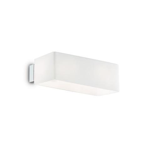 Ideal Lux Lampada da parete - Box AP2 Bianco - 009537