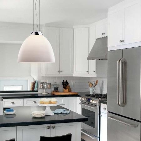 Ideal Lux Diffusore in vetro soffiato - TOLOMEO SP1 D40 BIANCO 001814