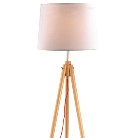 Ideal Lux Lampada da terra - YORK PT1 WOOD - 089805