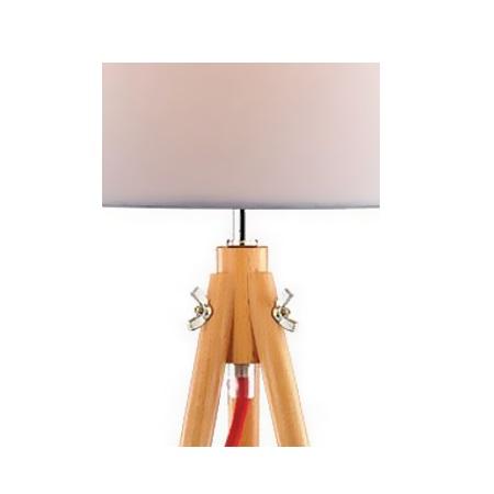 Ideal Lux Lampada da tavolo - YORK TL1 SMALL WOOD - 089782