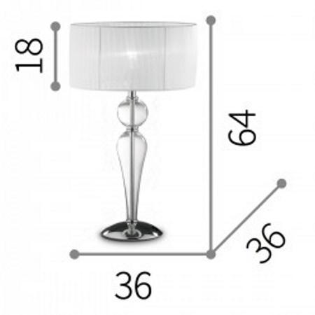 Ideal Lux Lampada da tevolo per studio - Duchessa  044491