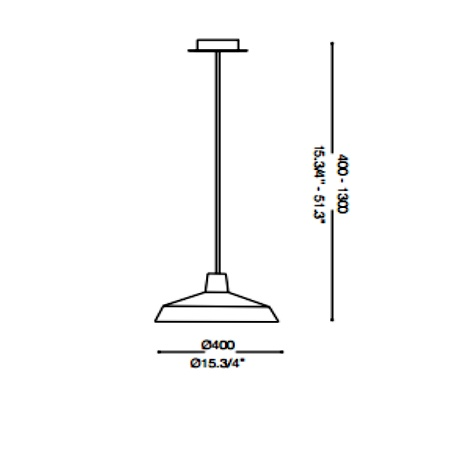 Ideal Lux Lampada a sospensione - MOBY SP1 CROMO 093680