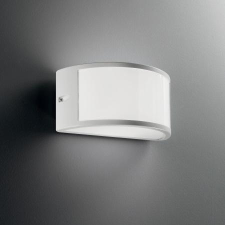Ideal Lux Lampada da parete - Rex1 AP1 Bianco - 092393