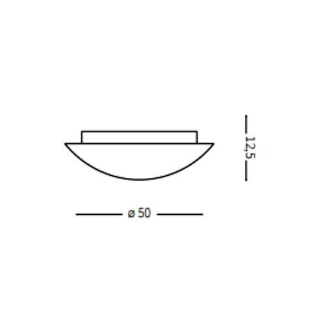 Ideal Lux Plafoniera - Simply PL4 - 007991