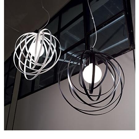 Ideal Lux Lampada a sospensione - Lampada a sospensione - Disco sp1 bianco - 103723