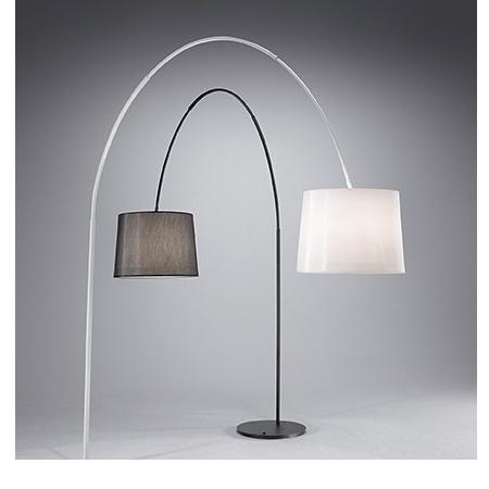 Ideal Lux Lampada da terra - DORSALE PT1 NERO 014371