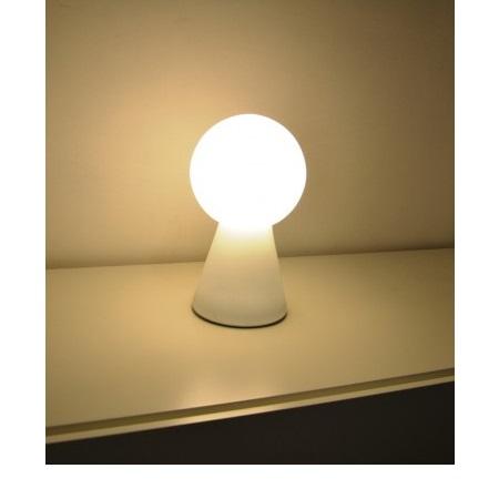 Ideal Lux Lampada da tavolo - Birillo TL1 Big Bianco - 000275