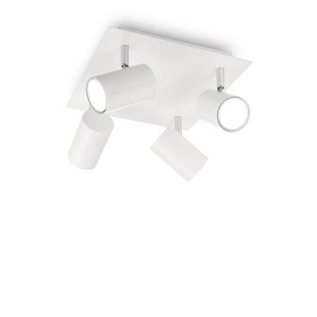 Ideal Lux Lampada da Soffitto - Spot PL4 Bianco - 156774