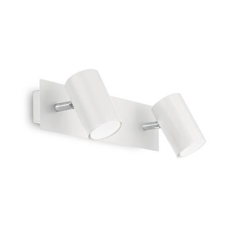 Ideal Lux Lampada da Parete - Spot AP2 Bianco - 156736