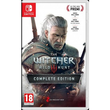Infogrames Gioco adatto modello switch - Switch The Witcher 3: Wild Hunt Complete Edition