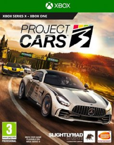 XONE PROJECT CARS 3 Project Cars 3