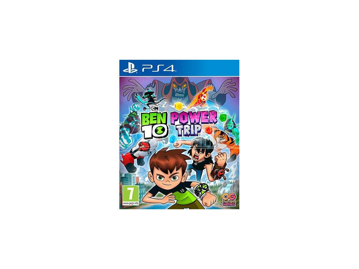 Ben 10 Power Trip Gioco PS4
