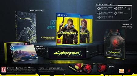 PS4 CYBERPUNK 2077 (DAYONE EDITION) Cyberpunk 2077 - Day One Edition