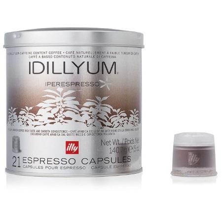 Illy 21 capsule di caffè tostato macinato - Idillyum 21 Capsule - 7470