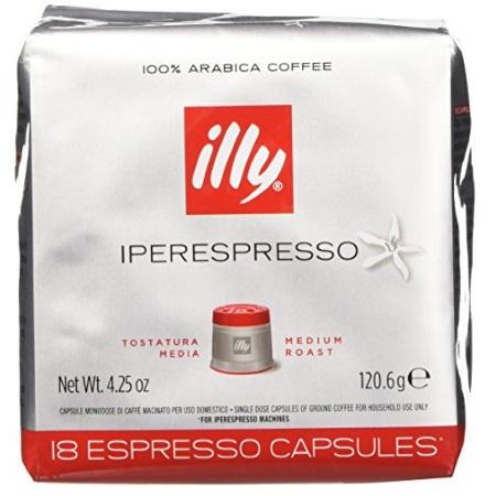 Illy - Iperespresso Tostatura Media 18 Capsule