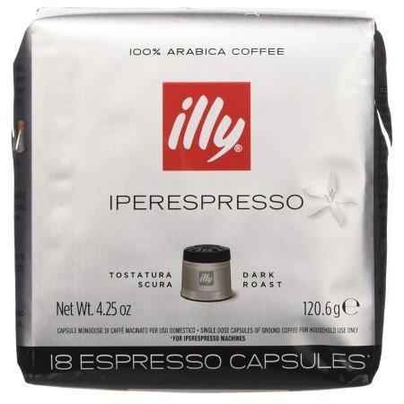 Illy - 18 Capsule Caffè Iperespresso Tostatura Scura - 7953