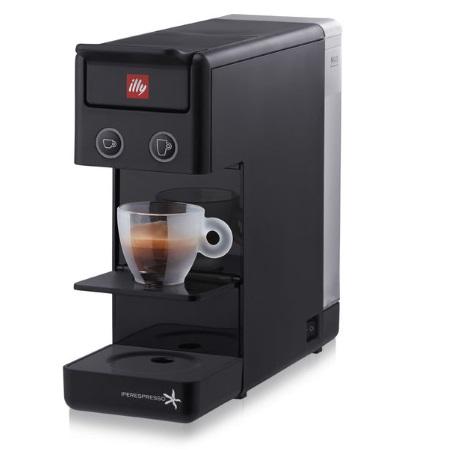 Illy Macchina caffe\' espresso - Y3 Iperespresso Espresso&Coffee nera