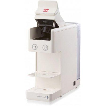 Illy Macchina caffe' espresso - Y3 Iperespresso - Espresso&Coffee bianca