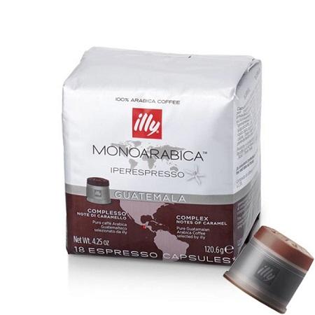 CAPSULA IPERESP.GUATEMALA 18 CAPSULE Caffe'in capsule Illy Iperespresso