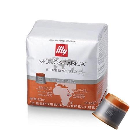 CAPSULA IPERESP.ETIOPIA 18 CAPSULE Caffe' in capsule Iperspresso Illy Etiopia Monorigine