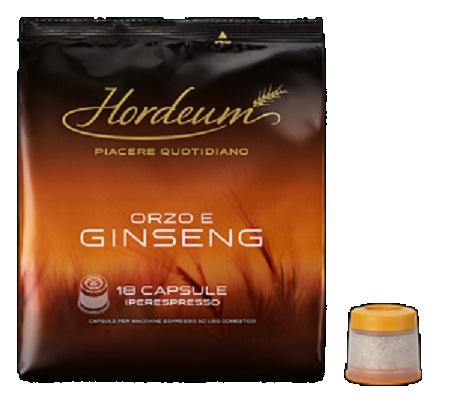 Illy 18 capsule Iperespresso ORZO E GINSENG - Hordeum Orzo E Ginseng