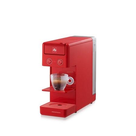 Illy Y3.3 Espresso&Coffee - MACCHINA IPERESPRESSO Y3.3 ROSSO