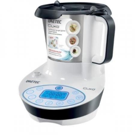 IMETEC Robot da cucina multifunzione: Cuoce, Mescola, Frulla, Trita e Impasta - CUKO' COOKING MACHINE 7780