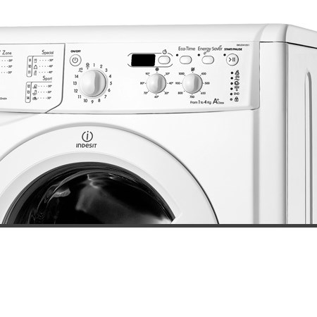 INDESIT Lavatrice a carica frontale - IWUD 41051 C ECO EU
