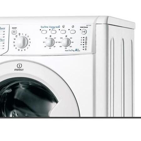 Indesit Lavatrice a carica frontale - Iwc 71252 C Eco Eu